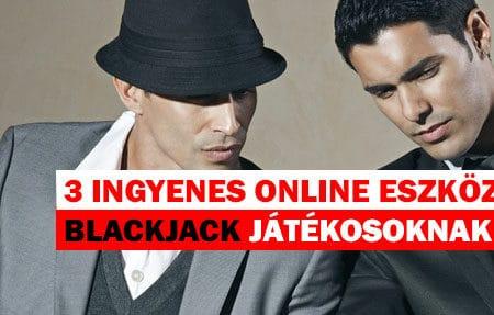 3 ingyenes online eszköz azért, hogy még jobb Blackjack játékos legyél