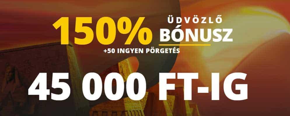 LVBET online kaszinó üdvözló bónusz: 150% + 50 ingyen pörgetés