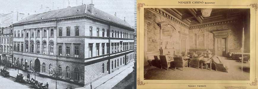 Kossuth Lajos utca 5, Cziráky palota, Nemzeti Kaszinó, illetve a kaszinó nagyterme