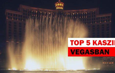 Az 5 leglátványosabb szálloda és kaszinó Las Vegasban